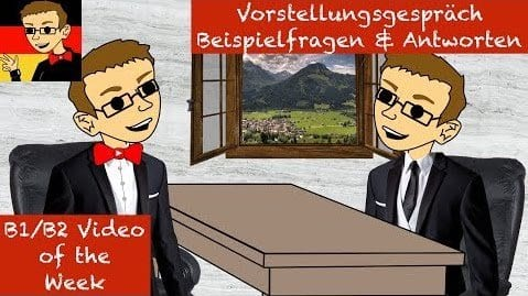 German Job Interview Questions and Answers