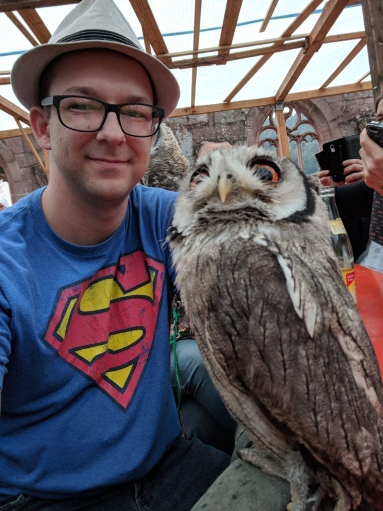 Selfie with an Owl