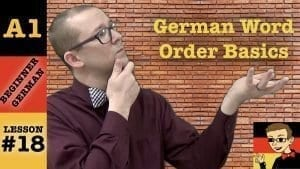 German Word Order Basics