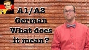 A1 A2 Beginner German Free Materials