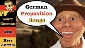 German Prepositions Songs