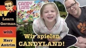 Learn German with Candyland
