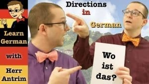 Wegbeschreibung - Giving Directions in German