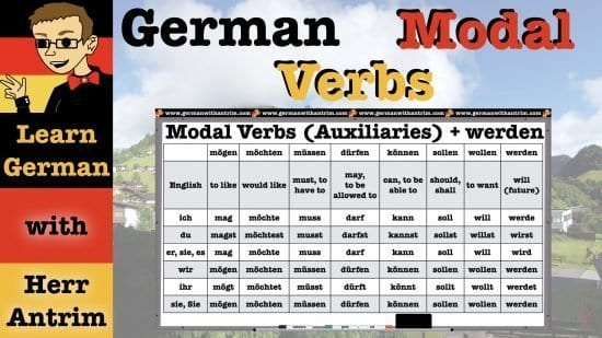 Introduction to German Modal Verbs & How to Use Them