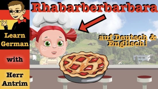 Rhabarberbarbara: A German Tongue Twister with English Translation