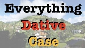 Everything-Dative