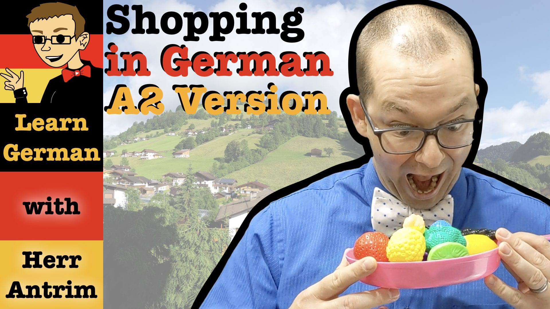 Grocery Shopping in German for A2 German Learners