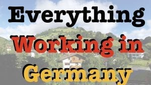 Everything Working in Germany